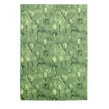 Одеяло из Хлопка Ярослав 4 тюльпаны зеленые