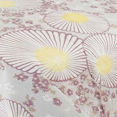 Ткань бязь набивная t256 крупные цветы