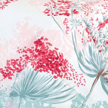 Ткань бязь набивная t261 цветы