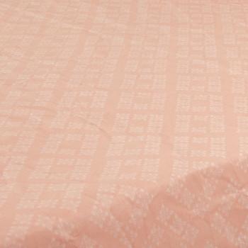 Ткань бязь набивная t242 ромбы