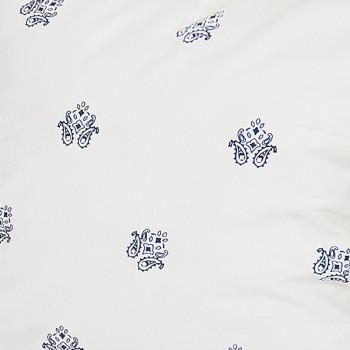 Ткань сатин s967 White Revers