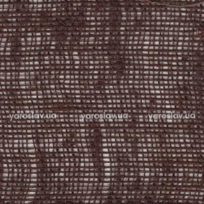 Тканина мішковина декоративна_коричнева
