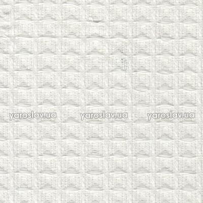 Тканина вафельна гладкофарбована_біла