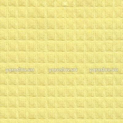 Тканина вафельна гладкофарбована_жовта