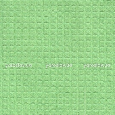 Ткань вафельная гладкокрашеная_салатовая