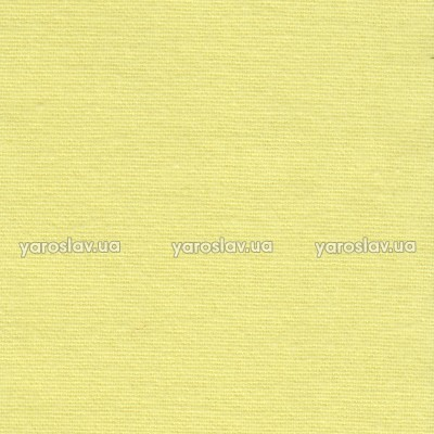 Ткань фланель гладкокрашеная_лимонная