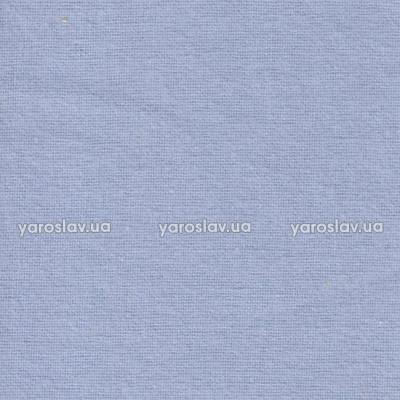 Тканина фланель гладкофарбована_блакитна