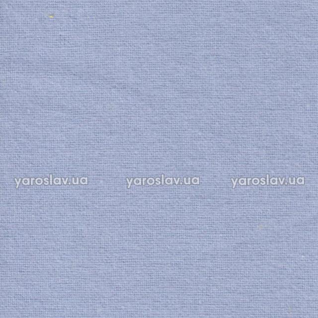 Ткань фланель гладкокрашеная_голубая
