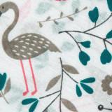Ткань ситец набивной д.5 птички